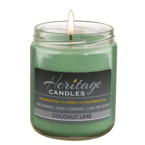 16-oz Granny Jar Candle - Coconut Lime