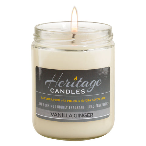 16-oz Granny Jar Candle - Vanilla Ginger