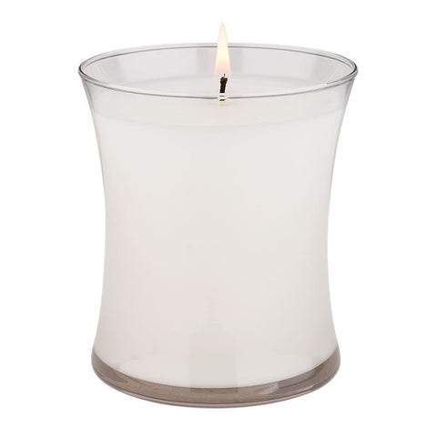 14-oz-Silver Scents Candle - White Cotton