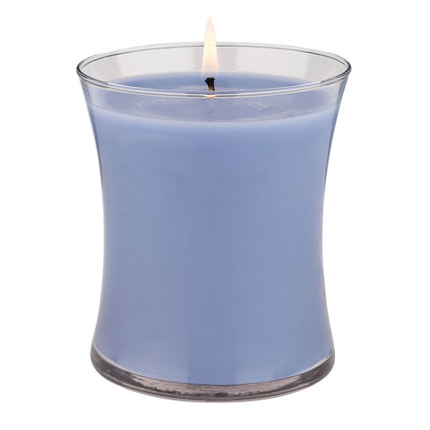 14-oz-Silver Scents Candle - Seamist & Lavender