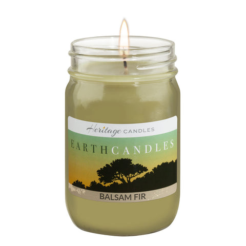 12-oz. Earth Candles - Balsam Fir