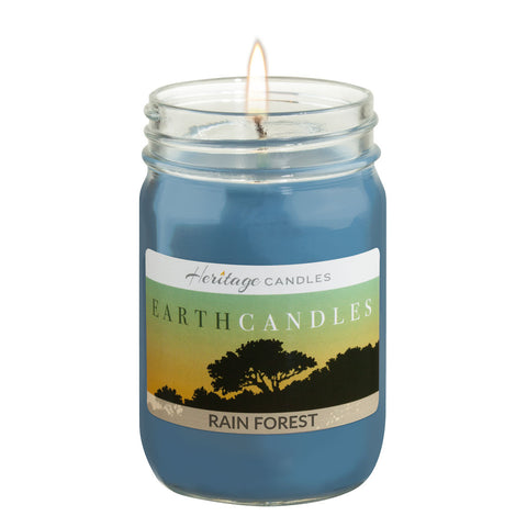 12-oz. Earth Candle - Rain Forest
