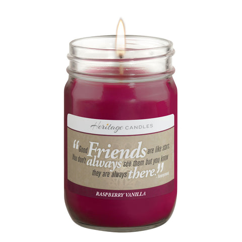 12-oz FRIENDS - Raspberry Vanilla