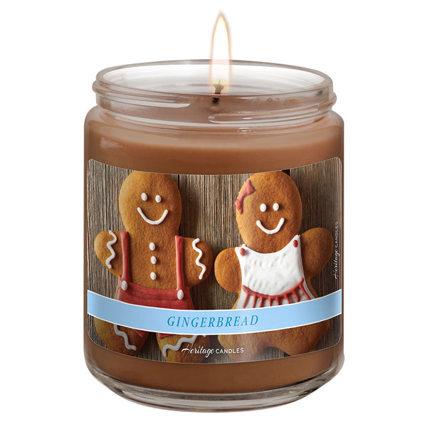 12-oz. Jar Candle - Gingerbread