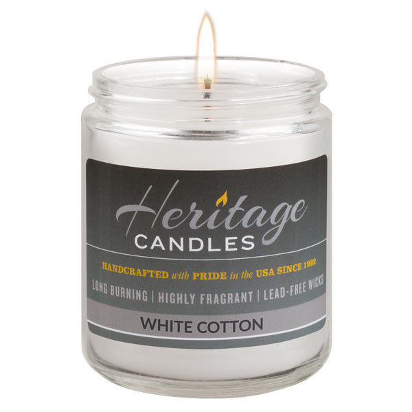 8-oz. Jar Candle - White Cotton