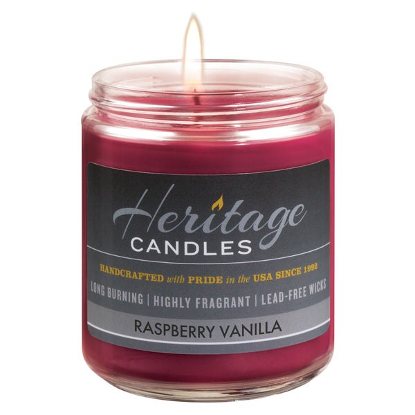 8-oz. Jar Candle - Raspberry Vanilla
