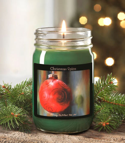 12-oz. Holiday - Christmas Spice Canning Jar Candle