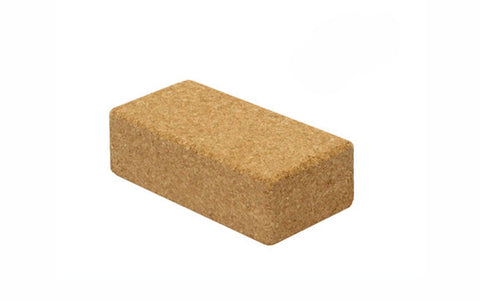 Cork block for yoga classes