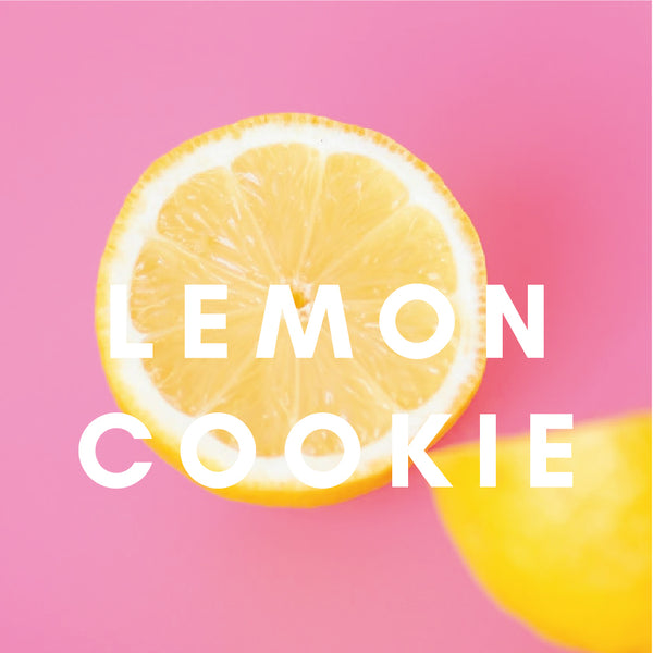 Lemon Cookie E-Liquid. Available in Three Flavour Strengths
