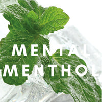 Mental Menthol Flavour E-liquid.Available in Three Flavour Strengths