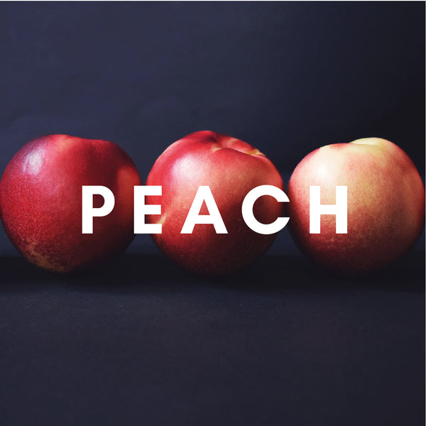 Peach Flavour E-liquid. Available in Three Flavour Strengths