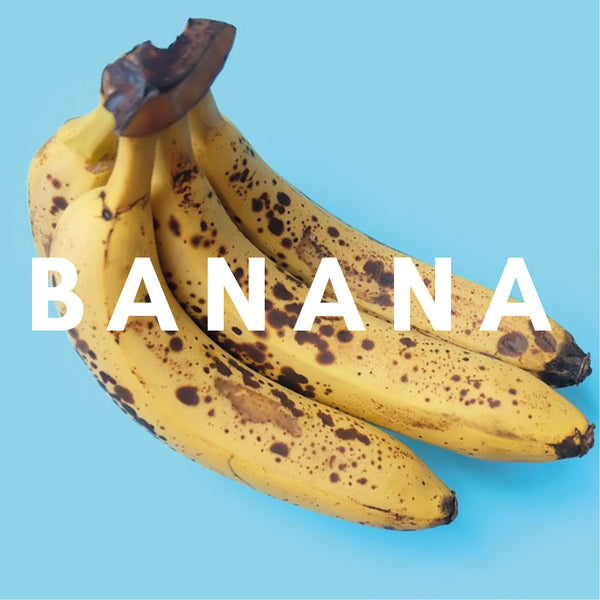 Banana E-liquid. Available In Three Flavour Strengths.