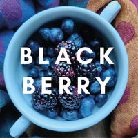 Blackberry Flavour E-liquid. Available in Three Flavour Strengths