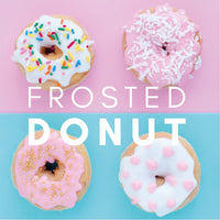 Frosted Doughnut Flavour E-Liquid. Available in Three Flavour Strengths