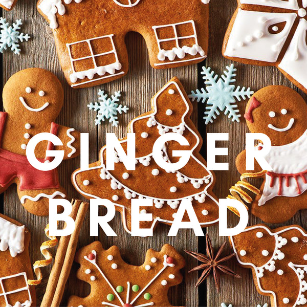Gingerbread Flavour E-liquid. Available in Three Flavour Strengths