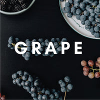 Grape Flavour E-liquid. Available in Three Flavour Strengths