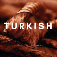 Turkish Flavour E-liquid. Available in Three Flavour Strengths