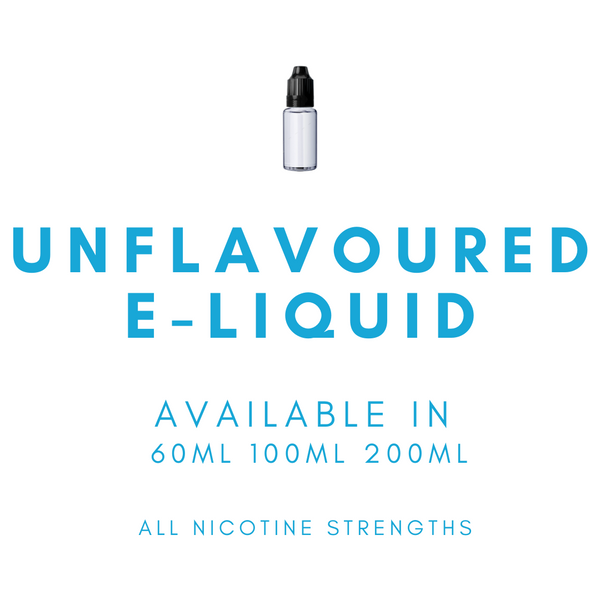 Unflavoured E-Liquid