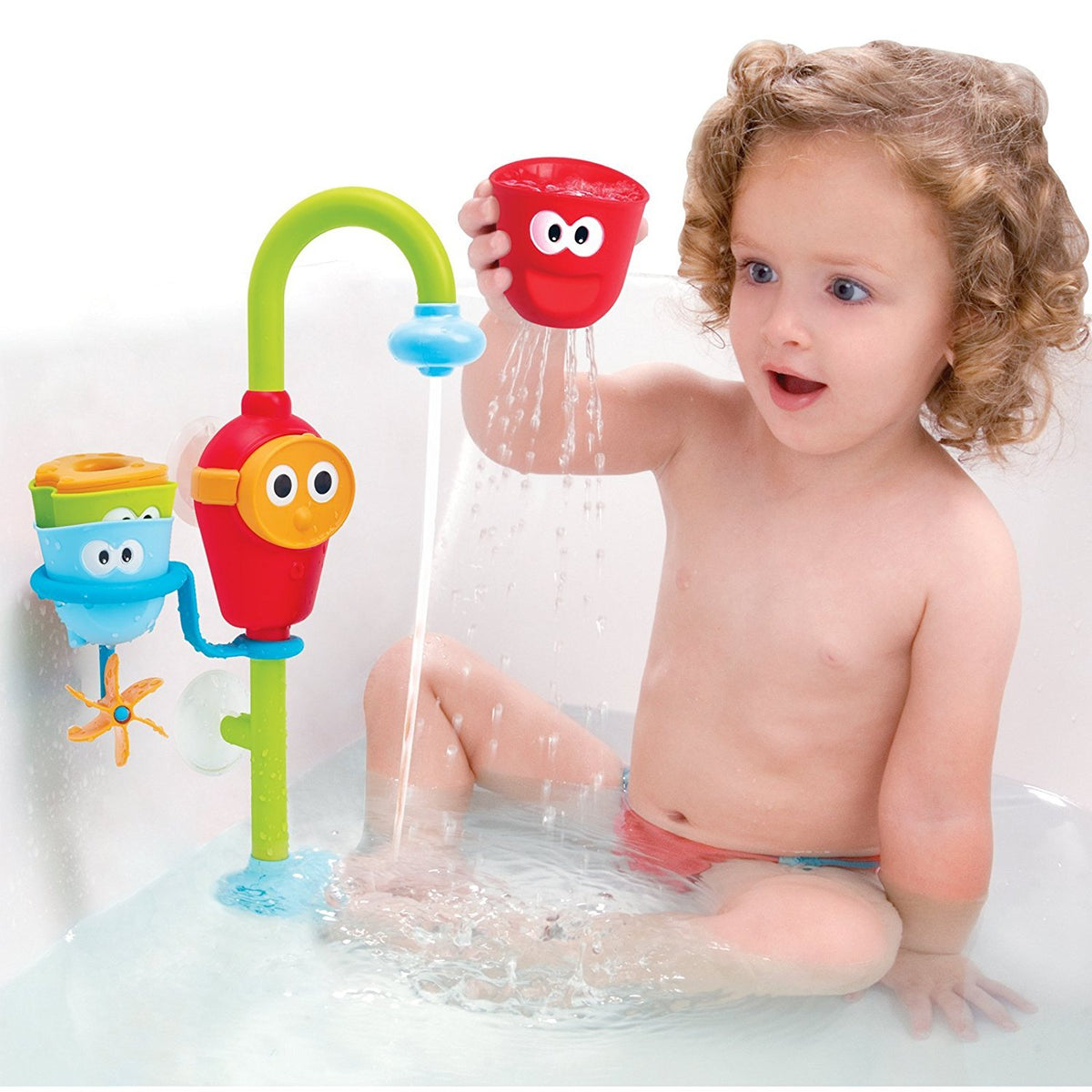 Creative Baby Bath Toy With Automatic Spout – SiloBeauty