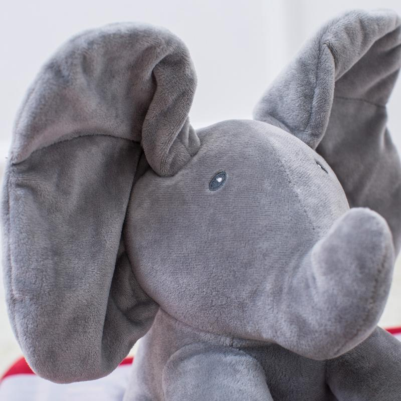 Ellie the Adorable Elephant - Peek A Boo!