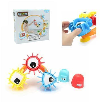 Baby Bath Toy - Three Spinning Gear