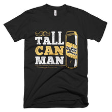 Tall Can Man Short sleeve men's t-shirt