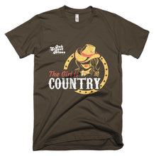 Girl is Country Short sleeve men's t-shirt