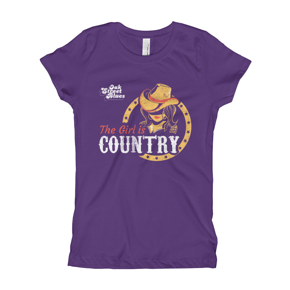 Girls is Country - Girl's T-Shirt