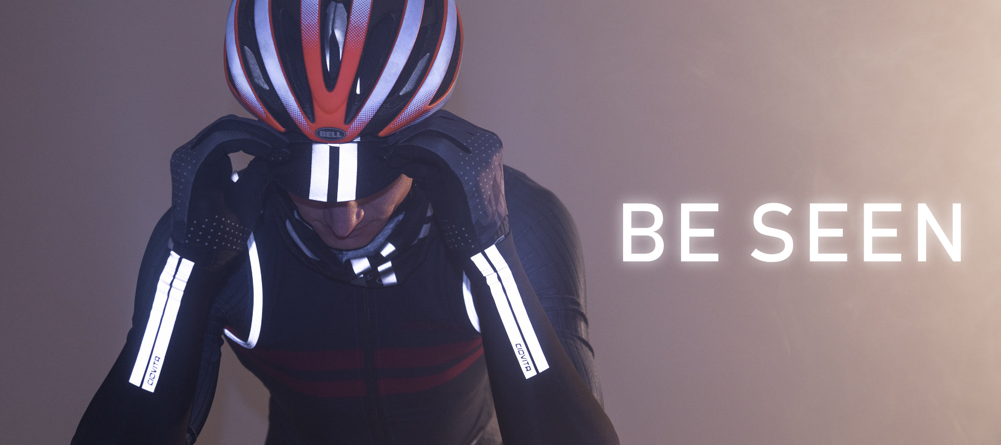 Be Seen with our Reflective Cycling Kit