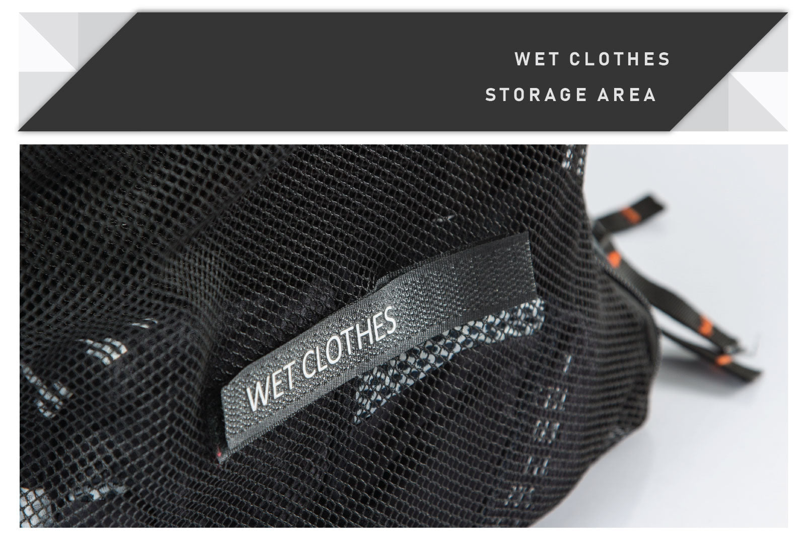 wet clothes storage area