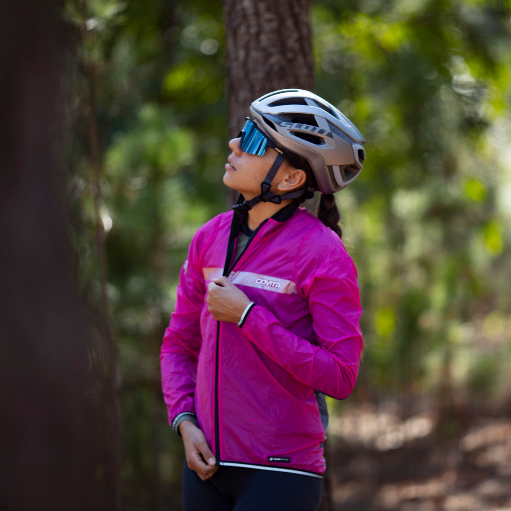 Ladies Pink Cirro Windproof Jacket