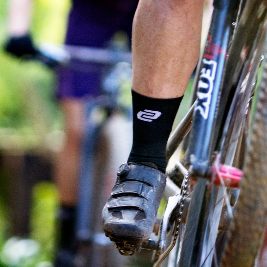 black cycling socks from Ciovita