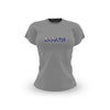 Ladies Grey Australian Flag T Shirt