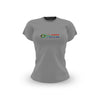 Ladies Grey South African Flag T Shirt