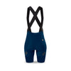 Ladies Navy Supremo Bib Shorts
