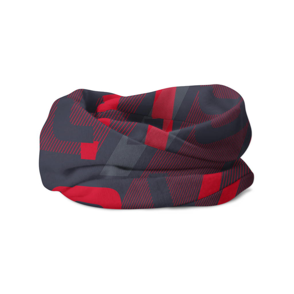 Red VitaTube Headscarf