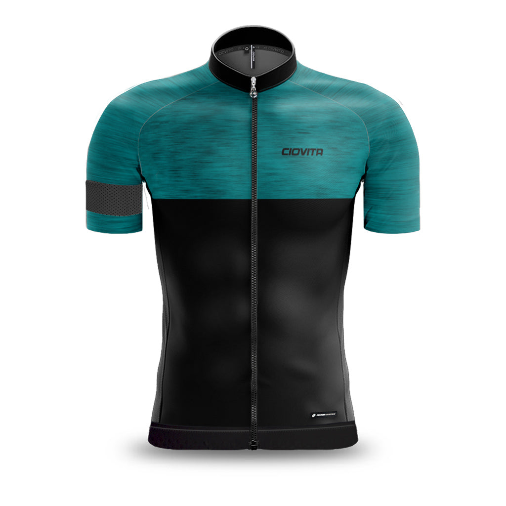 Men's Opera Race Fit Jersey (Aqua)
