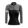 Ladies Opera Long Sleeve Jersey (Grey)