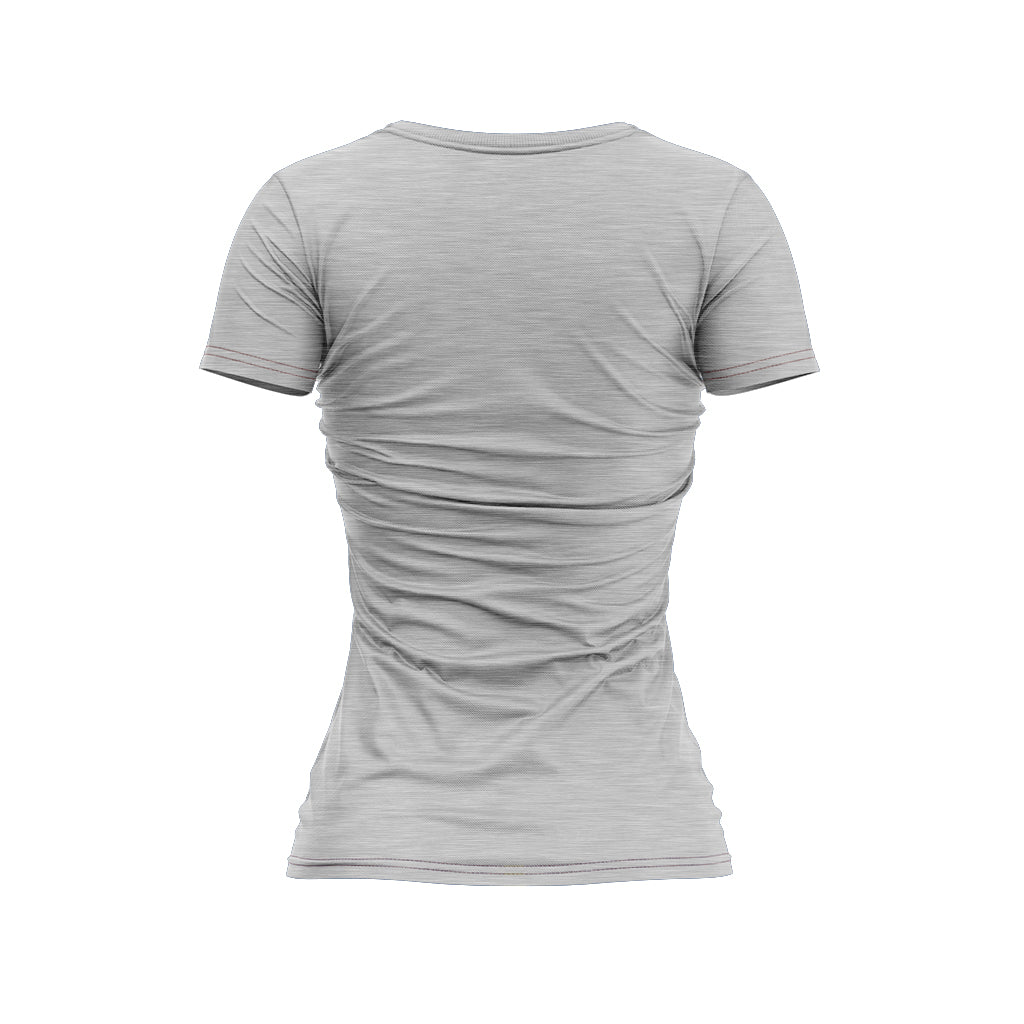 Ladies Macchiato Hemp Printed T Shirt