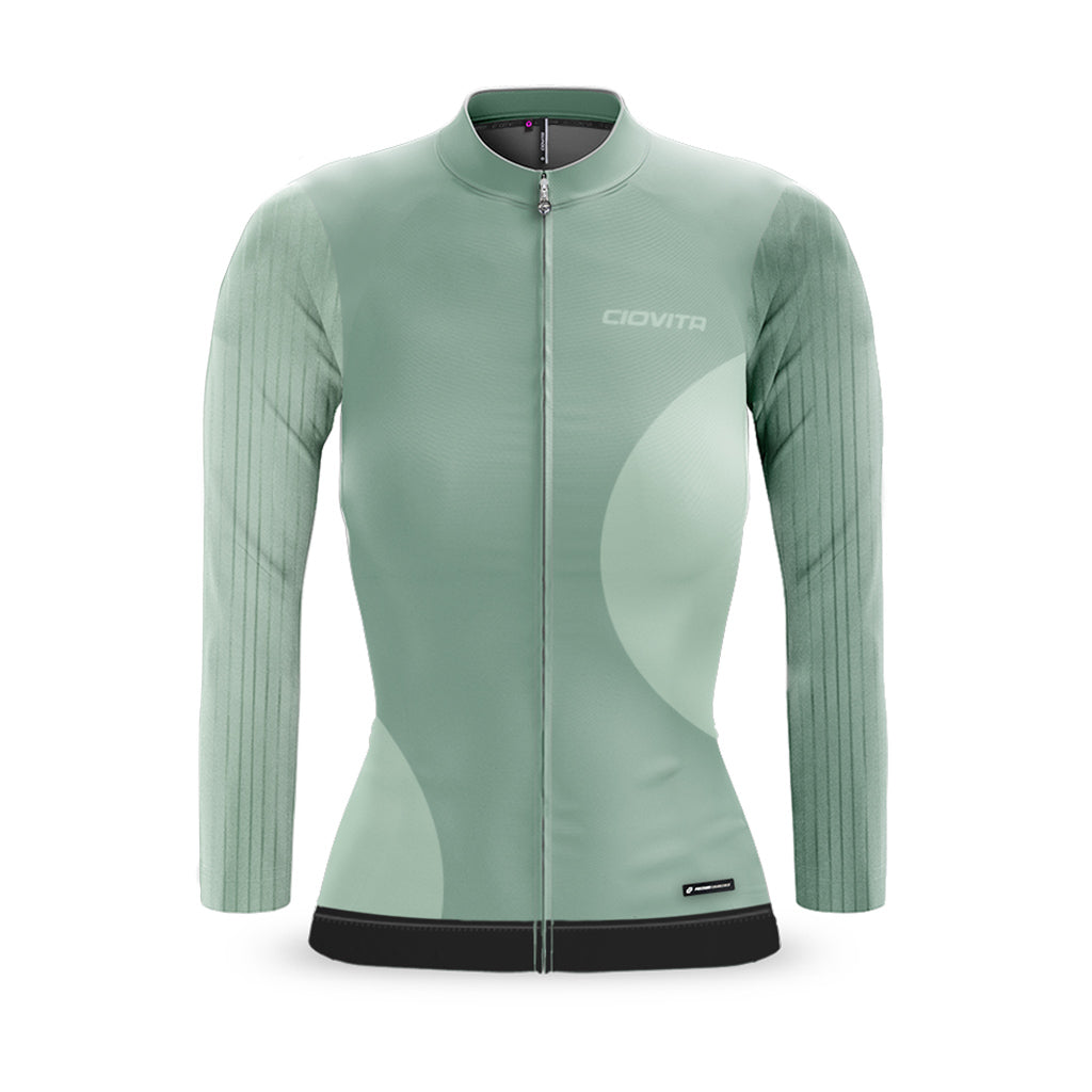Ladies Forma Long Sleeve Flyweight Jersey (Sage)