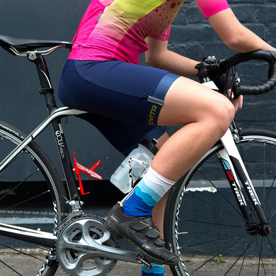 Ladies Corsa Bib Shorts (Navy)