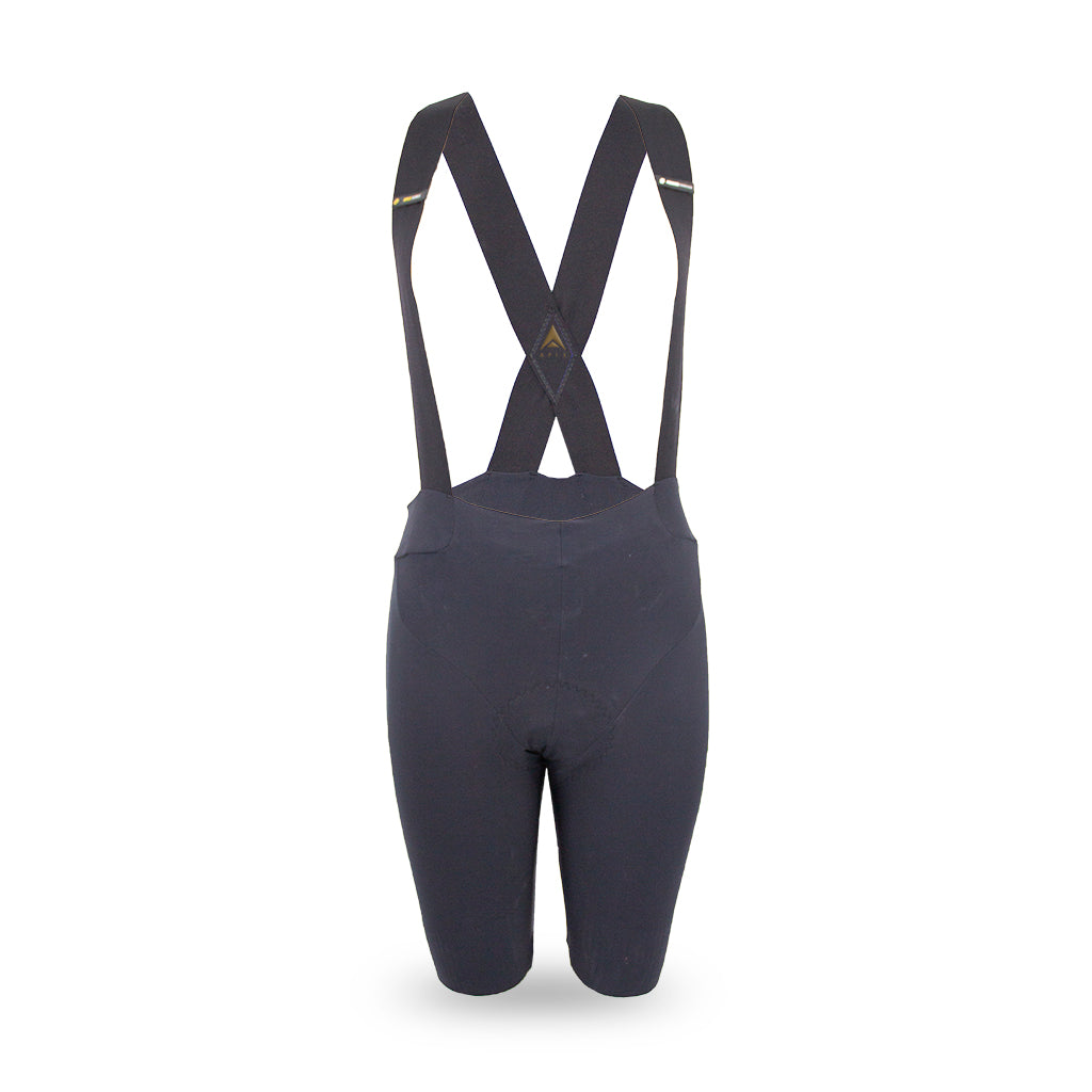 ladies black cycling bib shorts