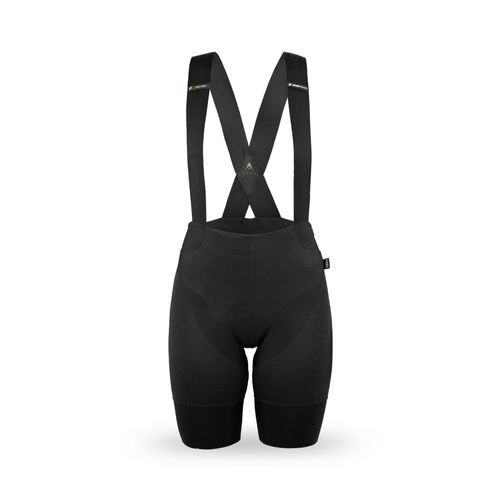ladies cycling bib shorts with ceramic shield