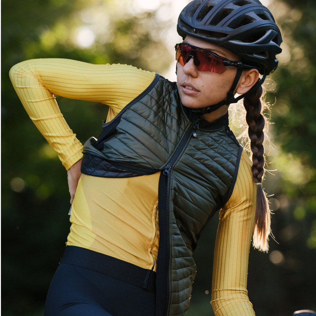 Ladies Contego Gilet 2.0 (Dark Olive)