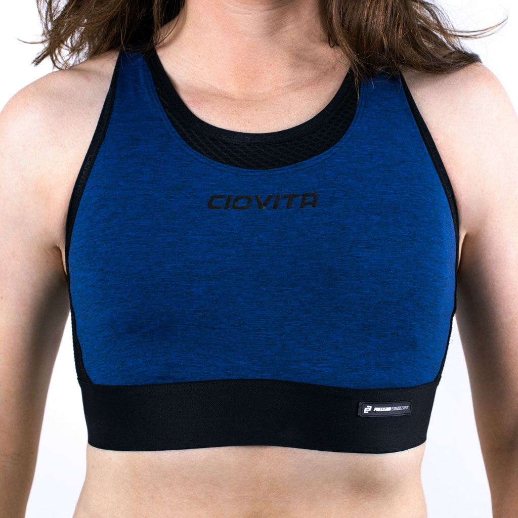 Ladies Supremo Sports Bra (Navy)
