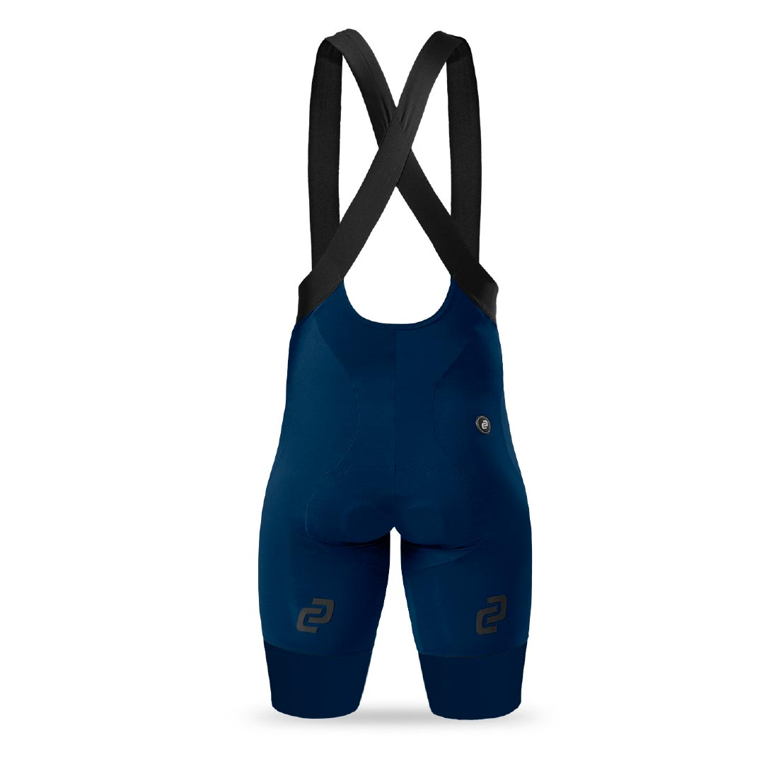 Men's Navy Supremo Bib Shorts