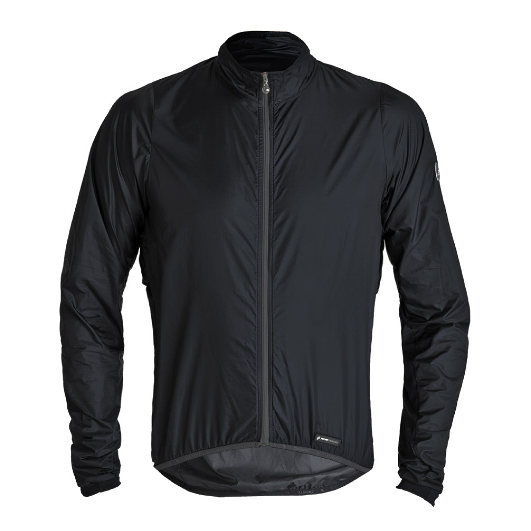 Men's Venti Black Windbreaker