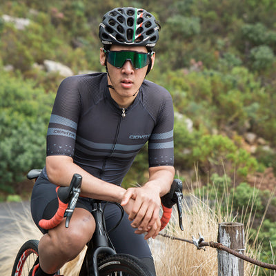 Men's Nero Supremo Race Fit Jersey