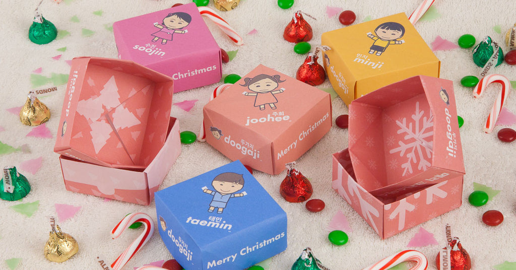 Christmas Project - A Jongi Jeopgi Gift Box