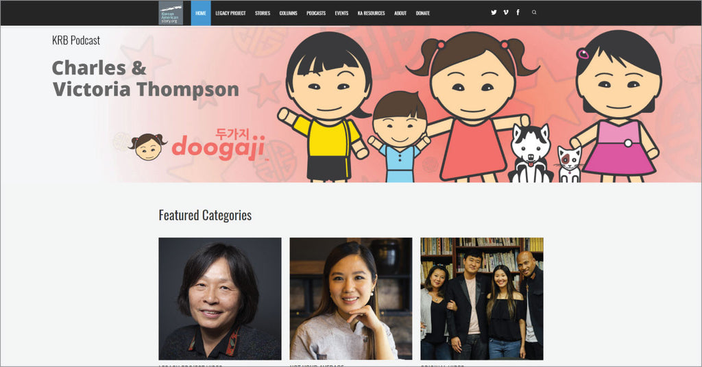 Doogaji featured on KoreanAmericanStory.org